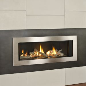 Heat & Glo Gas Fireplace , SL-950 Slim Line Direct Vent Gas ...