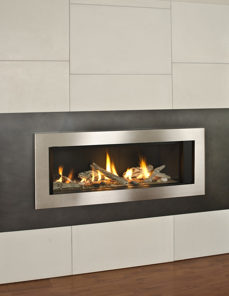 Valor Gas Fireplace L2 Linear Series Gas Fireplace