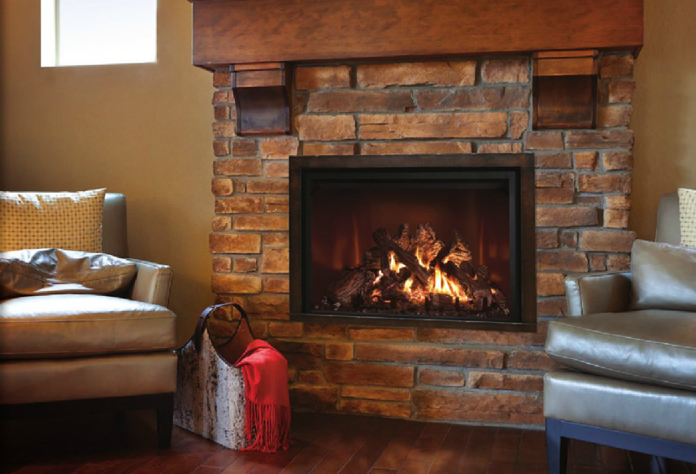 Mendota FullView Gas Fireplaces FV34 FV41 FV41 Arch