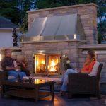 Napoleon Outdoor Gas Fireplace – Riverside 42 Outdoor