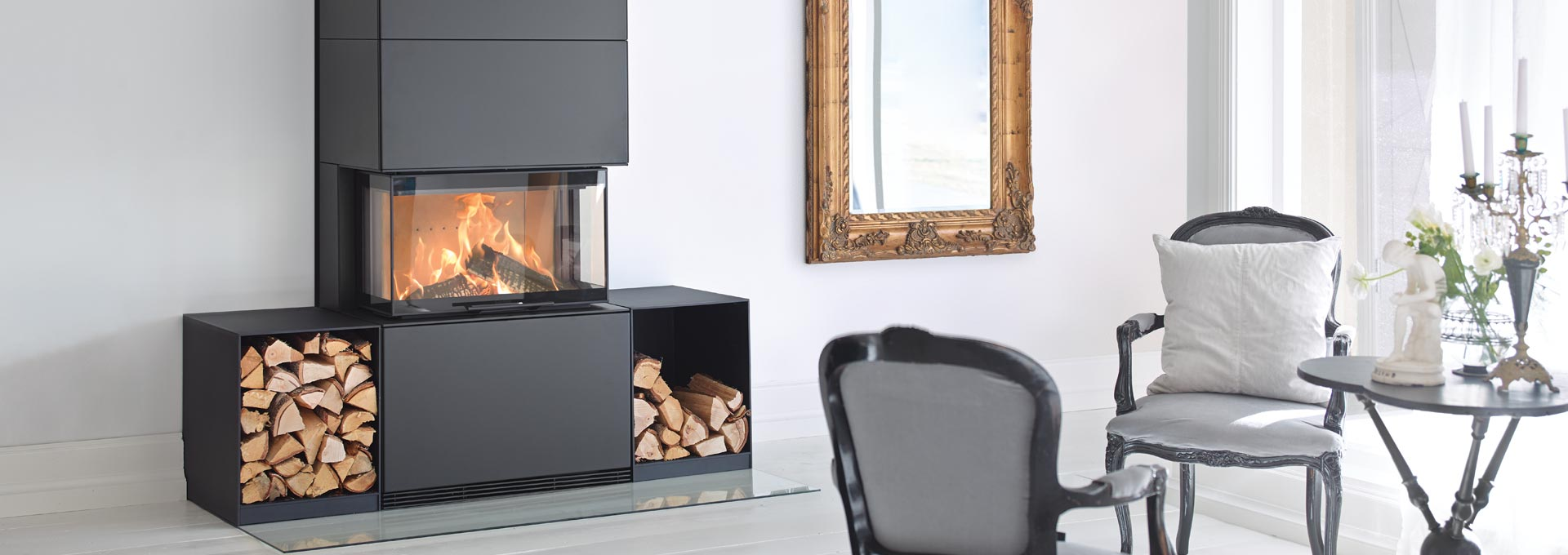 Contura Ri50 Freestanding Wood Fireplace – Regency Fireplace