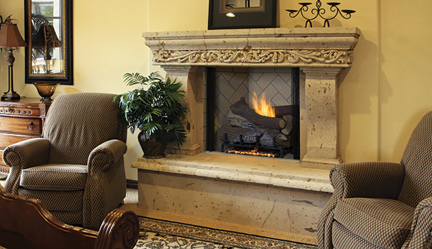 Astria Marquee Gas Fireplace