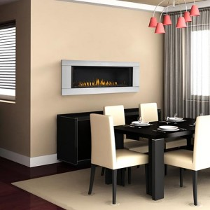 Continental Gas Fireplace CLHD45
