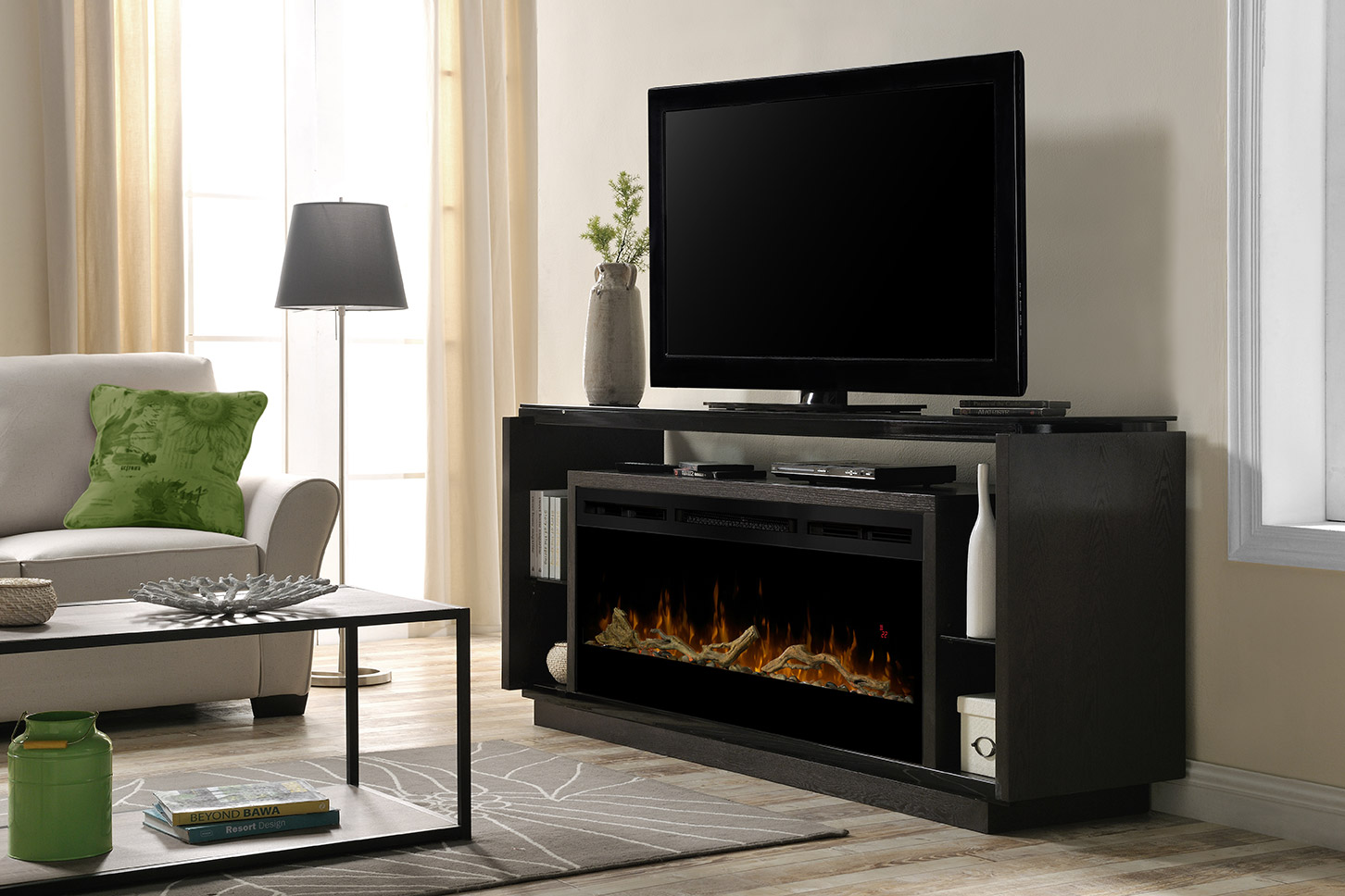 Dimplex Electric Fireplace- Media Console- David