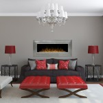 Dimplex Electric Fireplace – Ashmead Wall-Mount