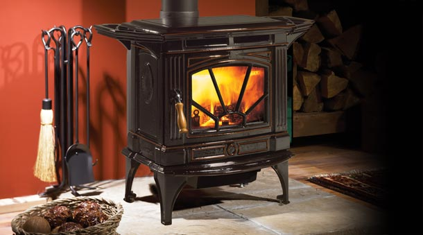 Hampton Wood Stove – H200 & H300 Medium Wood Stove