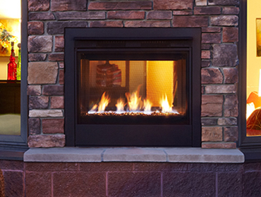 Heatilator Twilight Modern Gas Fireplace