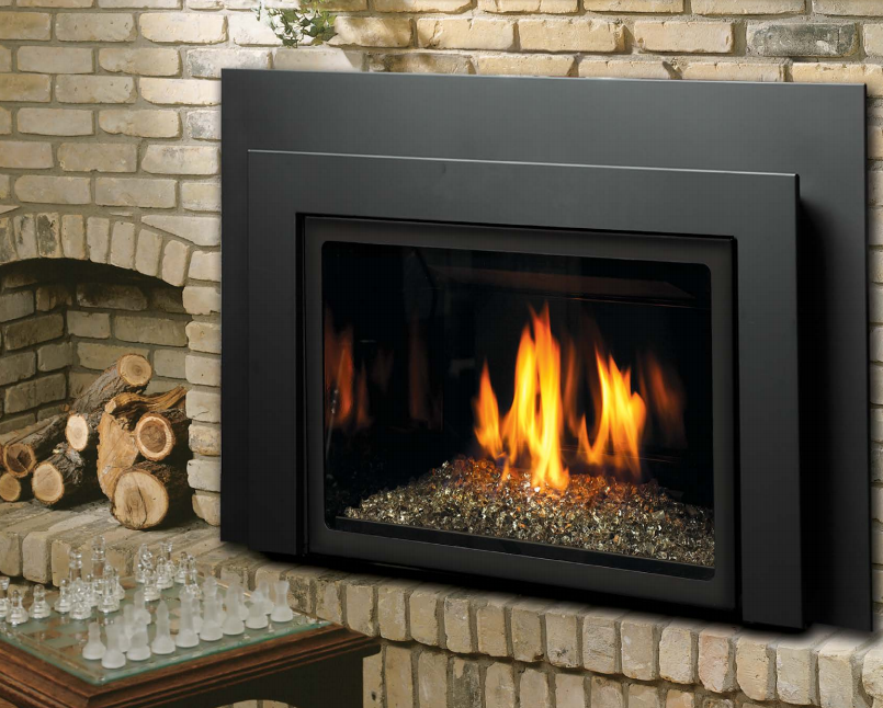 Kingsman Direct Vent Gas Fireplace Direct Vent Insert Idv26 The Fireplace Club