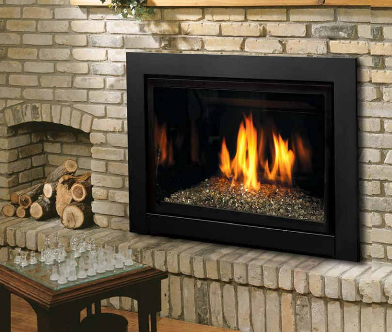 The Fireplace Club is providing Kingsman Gas Fireplace - Direct Vent Gas Insert IDV33/IDV36 in Toronto