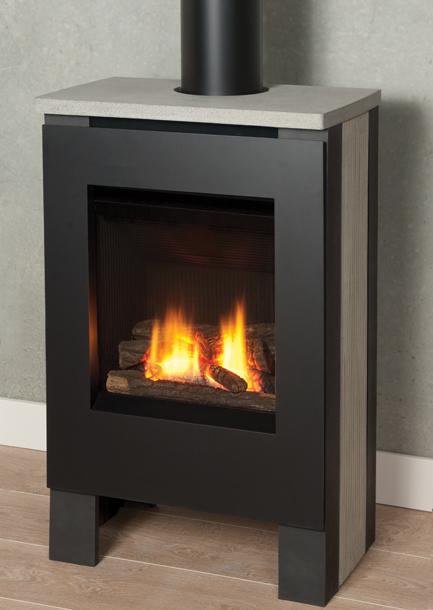 Valor Gas Stove Portrait Lift Freestanding Gas Stove