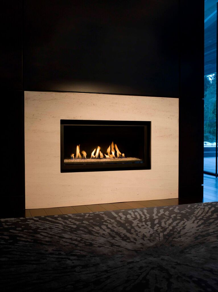 Montigo Gas Fireplace L Series Single Sided L38df