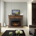 Napoleon Electric Fireplace-  Firebox and Mantel Combo