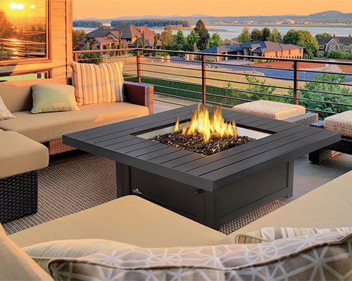 Outdoor Oasis Firepit