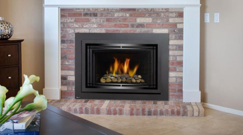 Regency Gas Fireplace Horizon Hri4e Hri16e Gas Insert The Fireplace Club