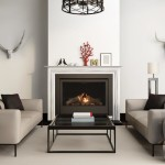 Grey interior fireplace modern atmospheric lounge living room