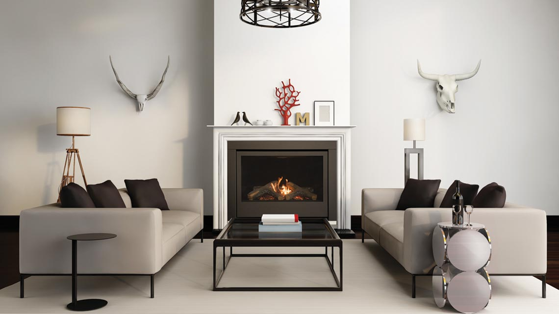 Sierra Flame Gas Fireplace – The Thompson 36 Gas Fireplace