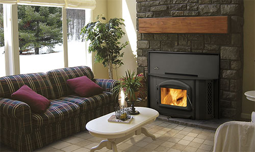 zone heating fireplace