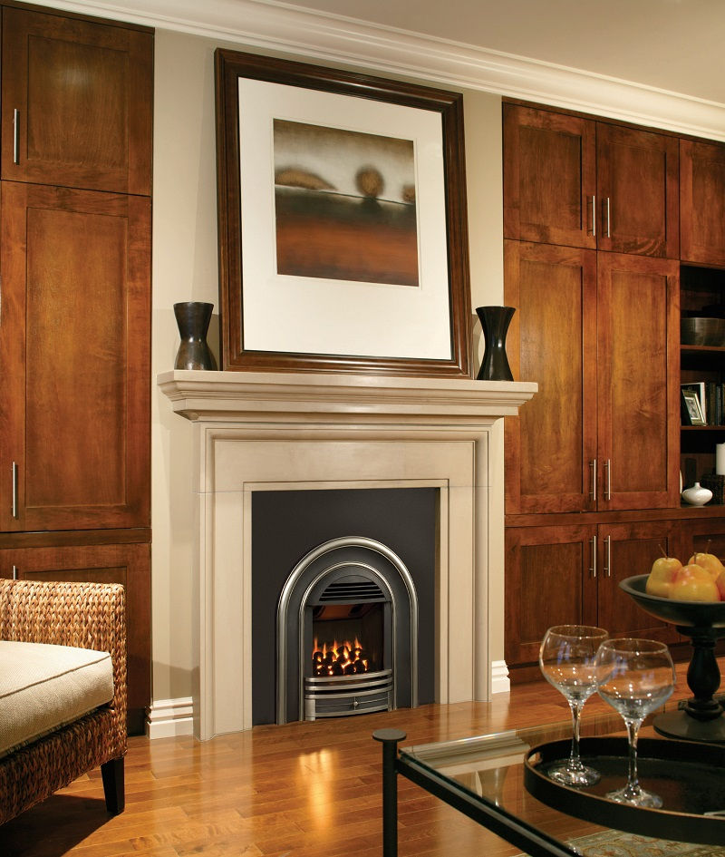 Valor Gas Firepalce – Classic Arch Gas Fireplace