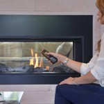 Valor Gas Fireplace – L1 Linear 2-Sided Series