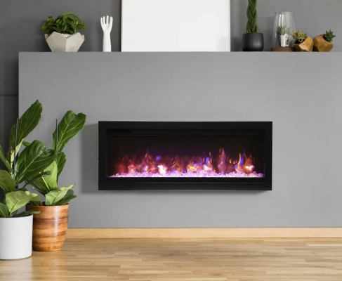 Amantii- Symmetry B Electric Fireplace 34″-42″-50″-74″-88″-100″