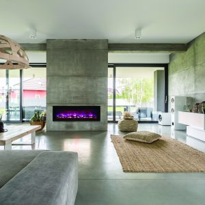 Spacious Villa With Cement Wall