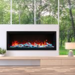 Amantii-Symmetry XT-Electric Fireplace- 50″-60″-88″-100″