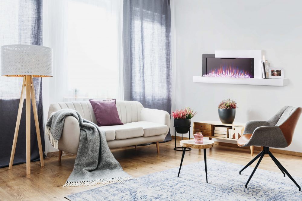 Napoleon Stylus Wallmount Electric Fireplace-NEFP32-5019W