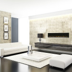Dimplex Linear Electric Fireplace –  Ignite, XLF, 50″, 74″, 100″.