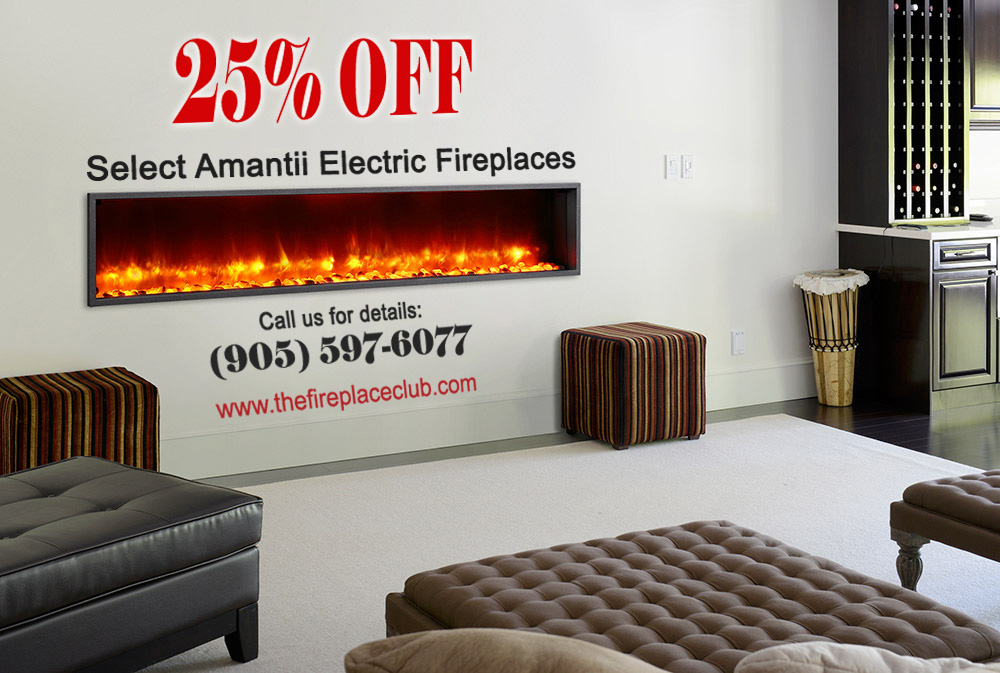 Amantii Electric Fireplaces 25 Promotion