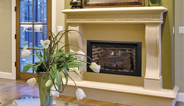 Astria Gas Fireplace – Alpha Gas Fireplace