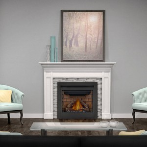 Continental  Gas Fireplace – CX36 , CX70 Gas Fireplace