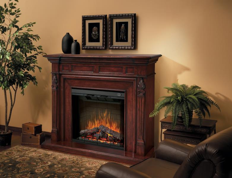 Dimplex Electric Fireplace – Torchiere Mantels
