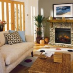 Dimplex Electric Fireplace – Field Stone Mantels