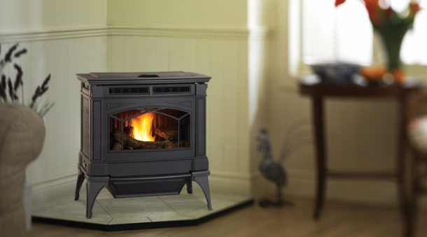 Hampton Large Pellet Insert and Stove – GC60, GCI60