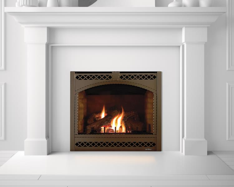 Heat & Glo Gas Fireplace , SL-950 Slim Line Direct Vent Gas Fireplace