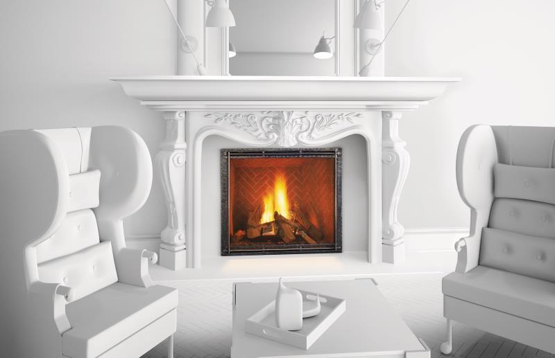 Heat & Glo Gas Fireplace – True Series Gas Fireplace