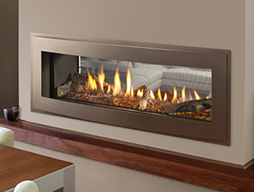 Heatilator Crave See Through Series Gas Fireplace The