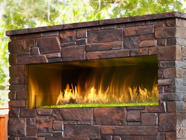 Heatilator Outdoor Gas Fireplace – Palazzo Gas Fireplace