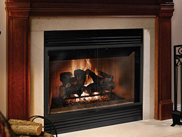 Heatilator Accelerator Wood Burning Fireplace The