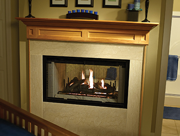 Heatilator Multi-sided Wood Burning Fireplace