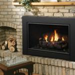 Kingsman Gas Fireplace  – Direct Vent Gas Insert IDV33/IDV36