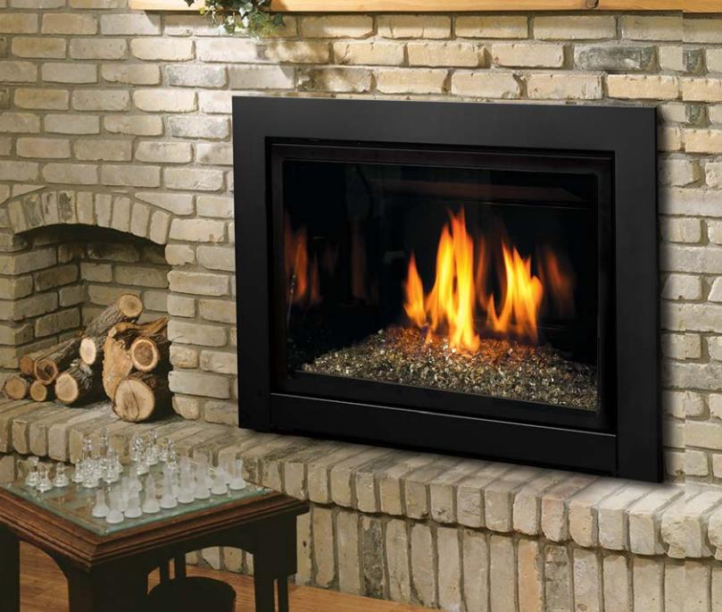 Kingsman Gas Fireplace Direct Vent Gas Insert Idv33