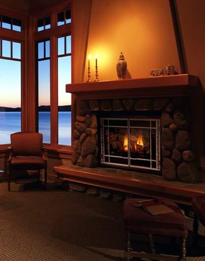 Mendota DXV Gas Fireplace
