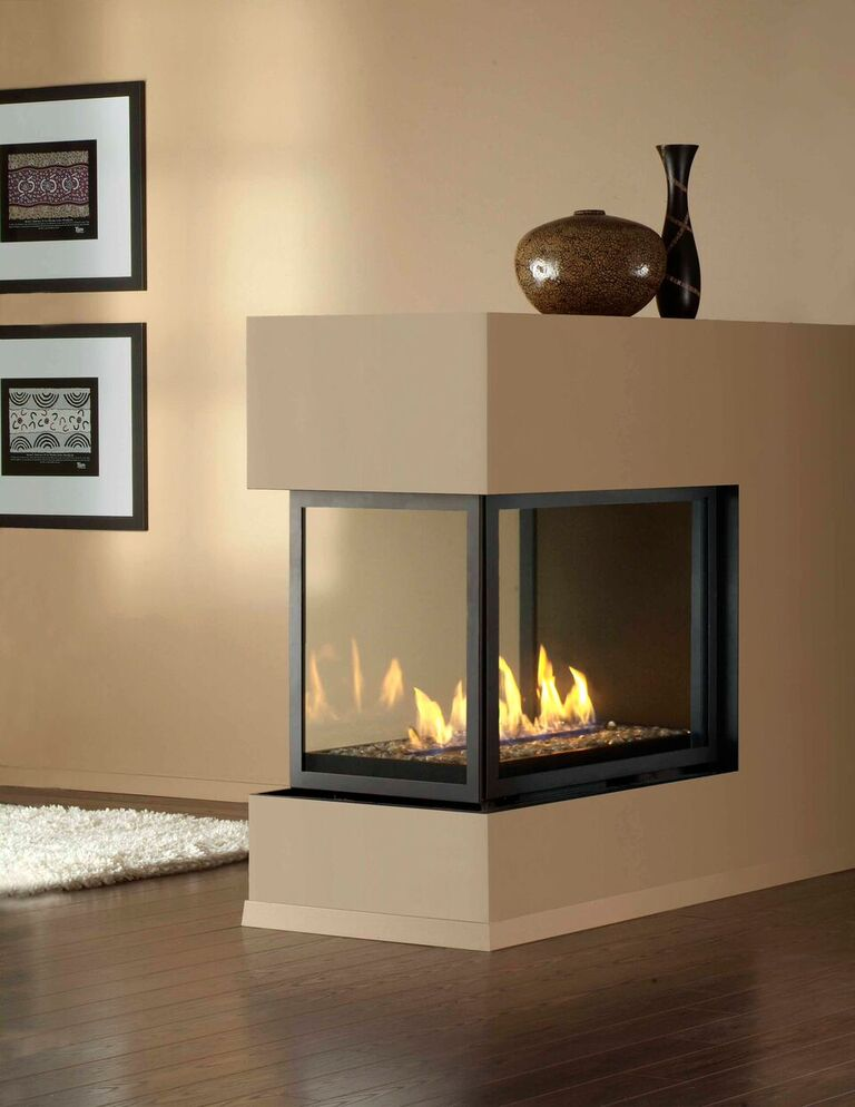 Montigo Gas Fireplace H Series Peninsula Hp38df Pfc And