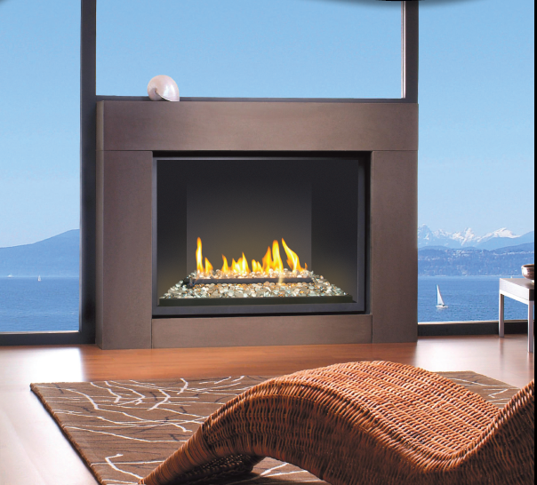 Montigo Gas Fireplace H Series Single Sided H34df