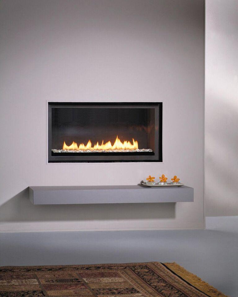 Linear Gas Fireplace >> Montigo Gas Fireplace , L- Series Single Sided - L38DF ...