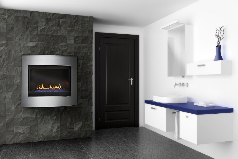 Napoleon Gas Fireplace – Crystallo Direct Vent Gas Fireplace