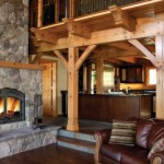 Napoleon High country NZ6000 Wood burning Fireplace