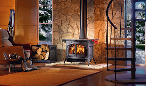 Pellet Gas Wood Stove