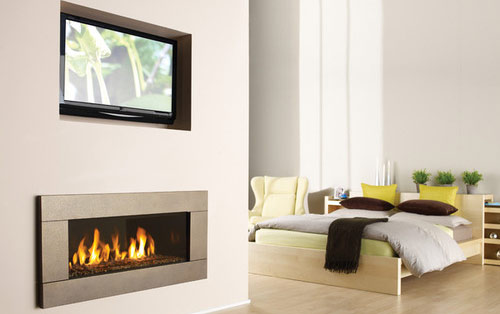 proper gas fireplace